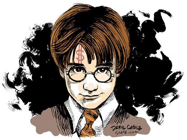 7386 600 Harry Potter cartoons