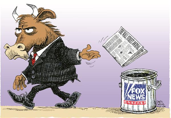 40062 600 Wall Street Journal Sale Fox cartoons