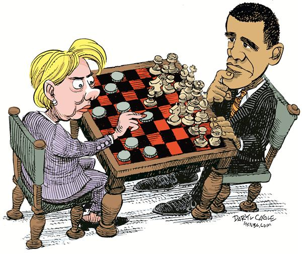47992 600 Hillary vs. Obama cartoons