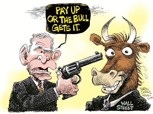 55859 600 Wall St Bailout Pitch cartoons