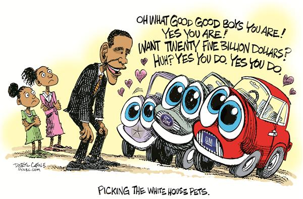 57852 600 Obama and Auto Pets cartoons