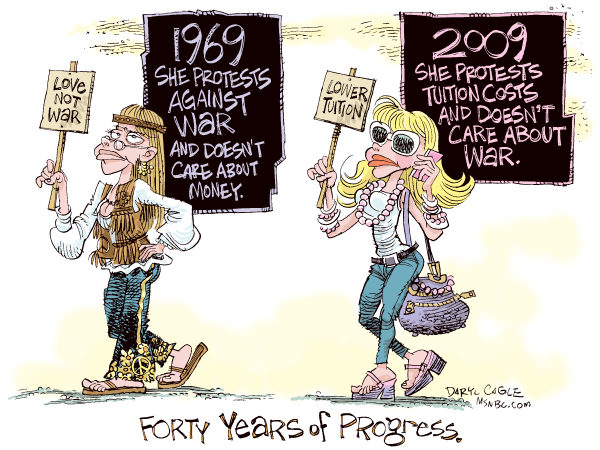 71913 600 College Tuition Hikes 40 Years cartoons