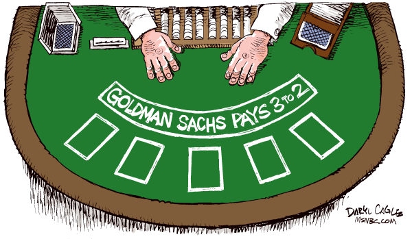 77743 600 Goldman Sachs Blackjack cartoons
