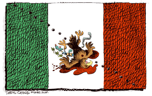 82401 600 Violence in Mexico cartoons