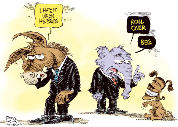 86743 600 Obama Begs for Tax Deal cartoons
