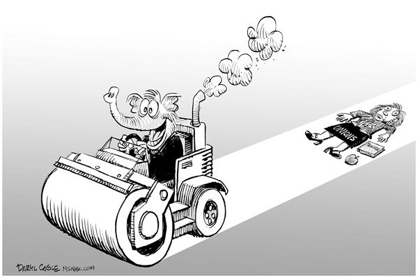 90341 600 GOP Union Steamroller cartoons