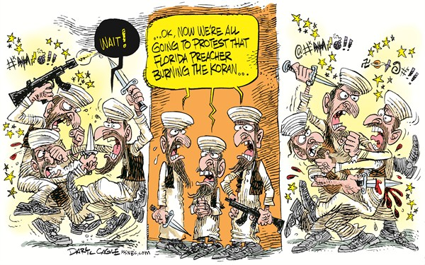 91483 600 Koran Burning Protests in Afghanistan cartoons