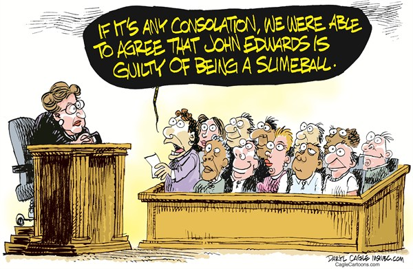 112715 600 John Edwards Verdict cartoons