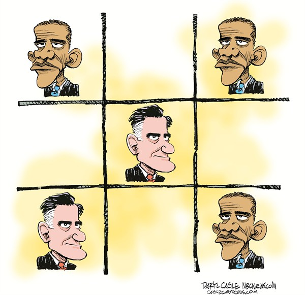 119354 600 My Romney Cartoons: Things Not Looking Good for Mitt cartoons