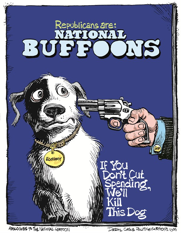 125654 600 Obama Knot and The National Lampoon cartoons