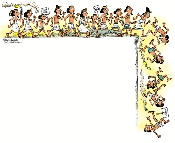 126311 600 Egyptian Lemmings cartoons