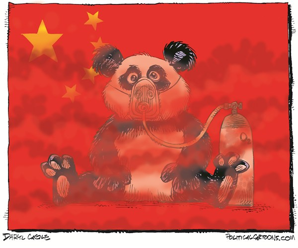 126670 600 Pollution in China cartoons