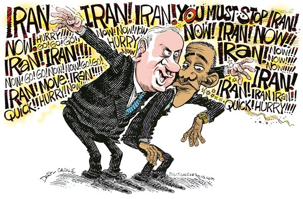 128867 600 Netanyahu and Obama cartoons