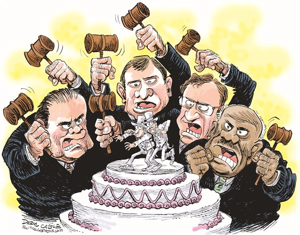 129286 600 Gay Marriage, Prop 8, Republicans and the Supreme Court! cartoons
