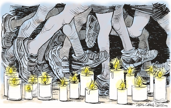 130428 600 Boston Marathon Memorial cartoons