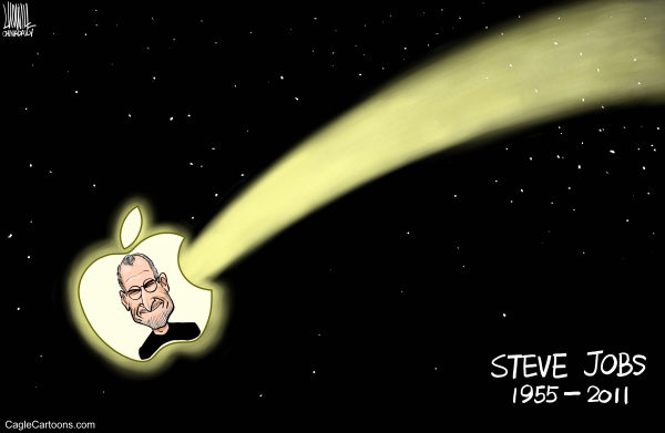 99122 600 Death of Steve Jobs cartoons