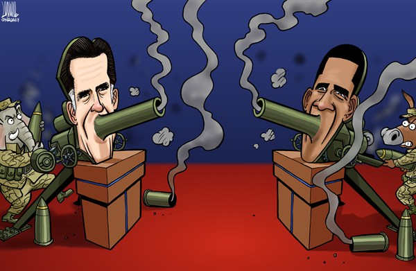 Luojie - China Daily, China - Tv debate - English - US,election,Romney,Obama,GOP,DEM,TV debates