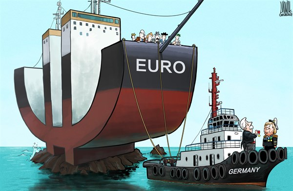Luojie - China Daily, China - Waiting to Save the Euro - English - German Chancellor,Merkel,EU,debt crisis,Euro