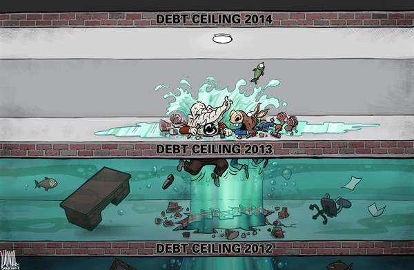 Luojie - China Daily, China - Endless - English - US,debt ceiling,GOP,DEM,Endless