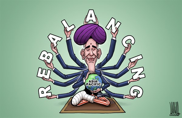 Asia Pacific Rebalancing © Luojie,China Daily, China,Asia-Pacific Rebalancing,Obama,visit,India