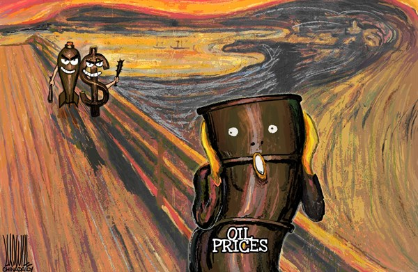 Luojie - China Daily, China - Scream - English - Scream,oil,prices,dollar,chaos,middle east