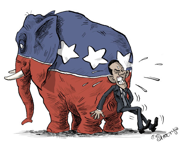 75796 600 Obama Vs Republicans cartoons