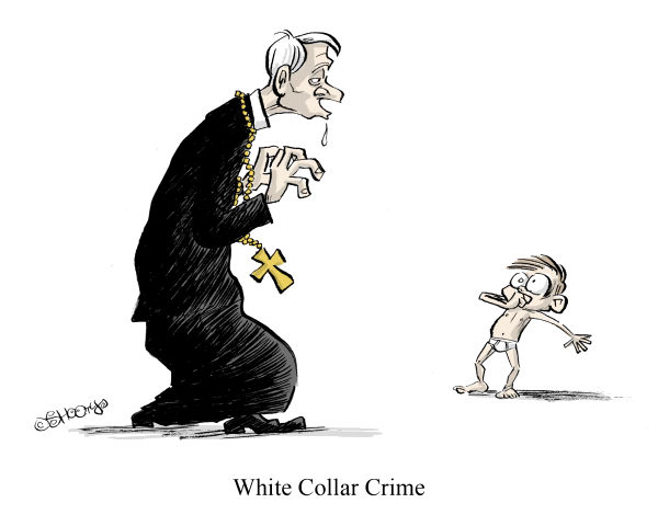 Martin Sutovec - Slovakia - White Collar Crime COLOR - English - abuse, molesting, Vatican, priest, pedophilia, pervert, Catholic Church, children, sex, scandal, White Collar Crime