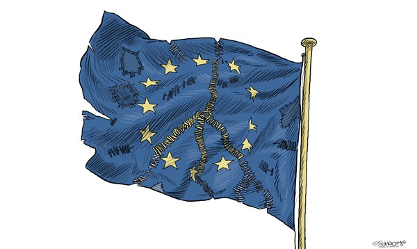 120307 600 The Nobel Peace Prize to European Union cartoons