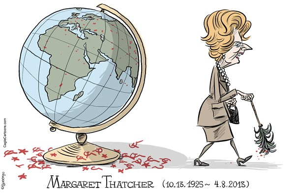 129914 600 Margaret Thatcher RIP cartoons