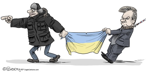 Martin Sutovec - Slovakia - East or West - English - East, West, Viktor Yanukovych, Vitali Klitschko, European Union, EU, Ukraine, Russia, riots, protests