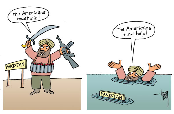 81937 600 Pakistan flood and Americans cartoons