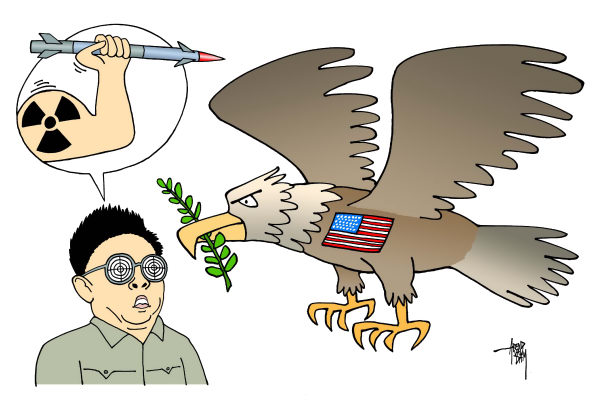 86051 600 North Korean aggression cartoons