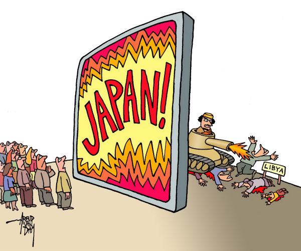 90471 600 focus on Japankilling in Libya cartoons