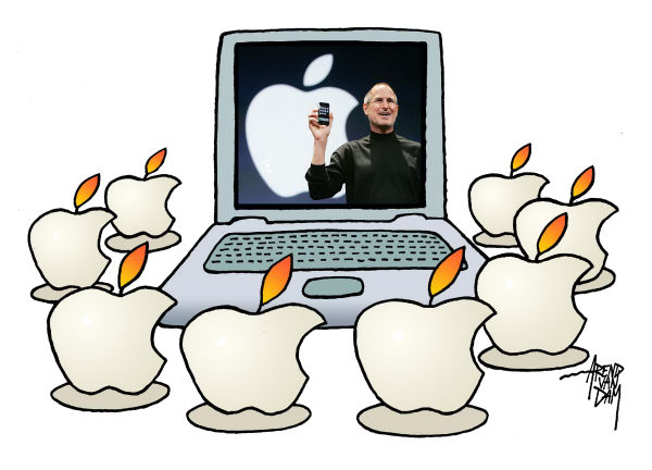 98953 600 Apple and Steve Jobs cartoons