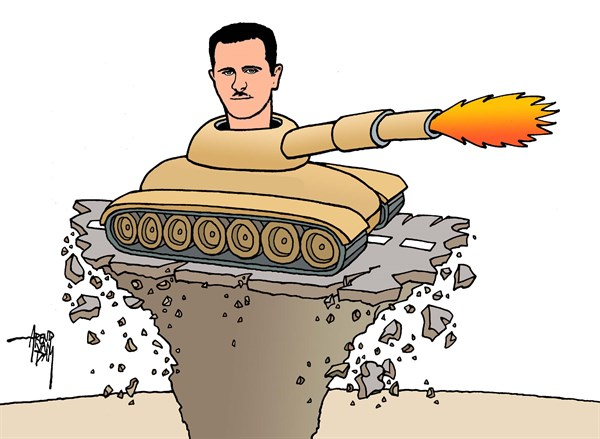 Arend Van Dam - politicalcartoons.com - no future - English - Assad, Syria