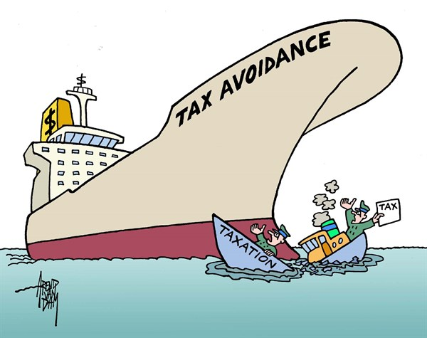 Arend Van Dam - politicalcartoons.com - taxdestroyer - English - tax, tax avoidance, G8