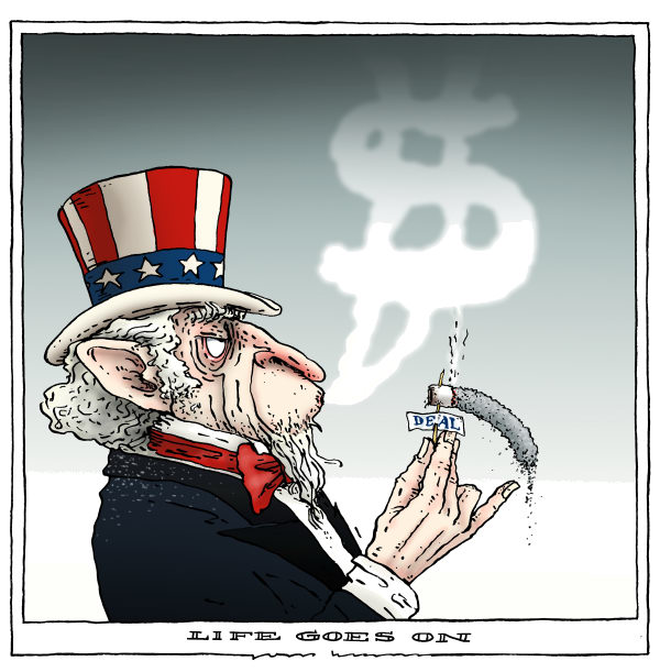 Joep Bertrams - The Netherlands - life goes on - English - deficit deal, US