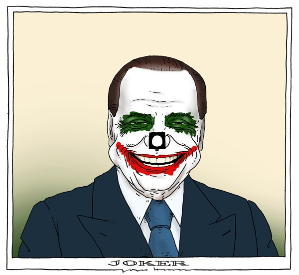 Joep Bertrams - The Netherlands - joker - English - italy, elections, berlusconi, joker