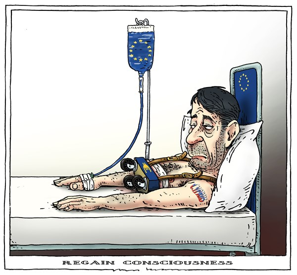 Joep Bertrams - The Netherlands - regain consciousness - English - cyprus, bailout, bank crisis, europe, eu, euro