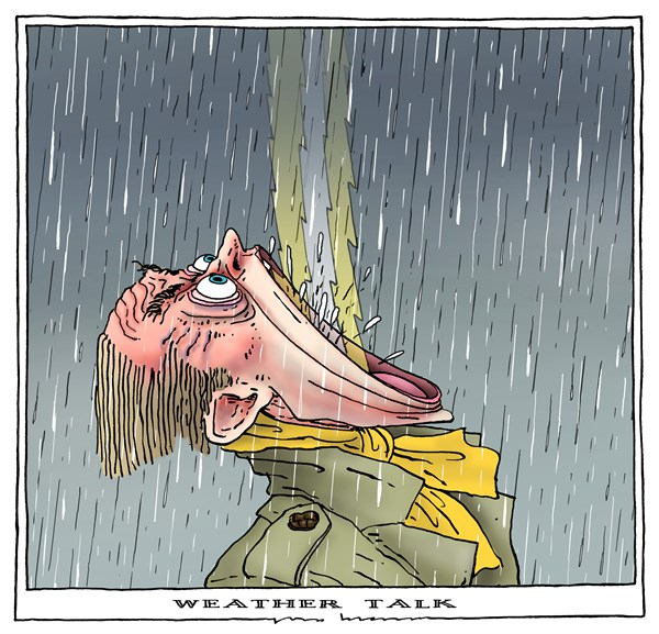 weather talk © Joep Bertrams,The Netherlands,disasterous, weather, storm, rain, tornado, climate,