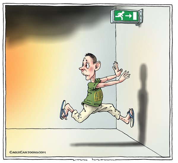 Joep Bertrams - The Netherlands - emergency exit - English - gaza, exit, threat, israel, escape