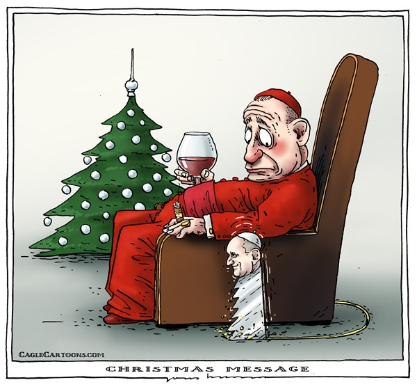 Christmas Message from the Pope © Joep Bertrams,The Netherlands,pope,vatican,message,Christmas