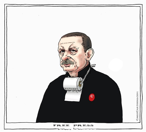 Joep Bertrams - The Netherlands - free press - English - turkey, erdogan, free press, justice, cumhuriyet, Dündar, Musa Kart