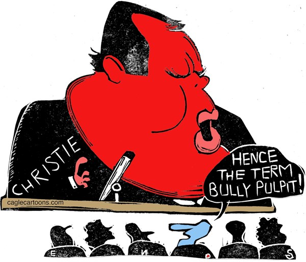 142969 600 Christie Bully Pulpit cartoons