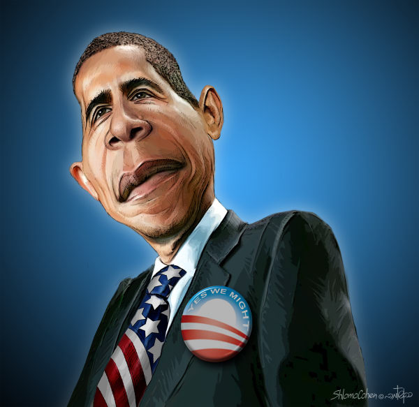 Shlomo Cohen - Israel - Yes We Might - English - yes we can, obama, barack, president, election 2010, midterm, congress