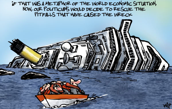 Kap - La Vanguardia, Spain - Cruise liner disaster - English - Costa Concordia Tragedy , Cruise Liner , Maritime Disaster, Ship Sinks , Ship, cruise,