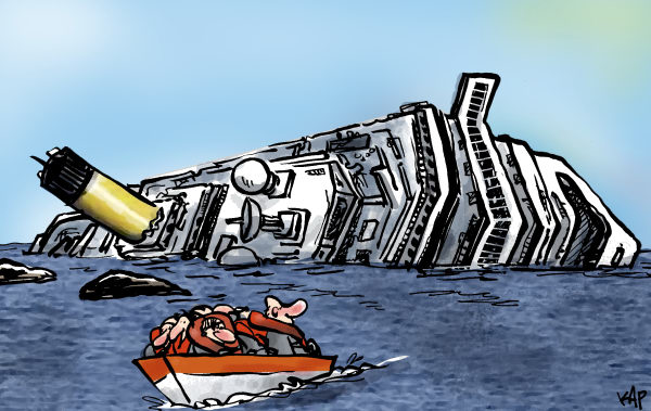 Kap - La Vanguardia, Spain - Cruise liner disaster - English - i send this with the blank space, if the english translations is not ok