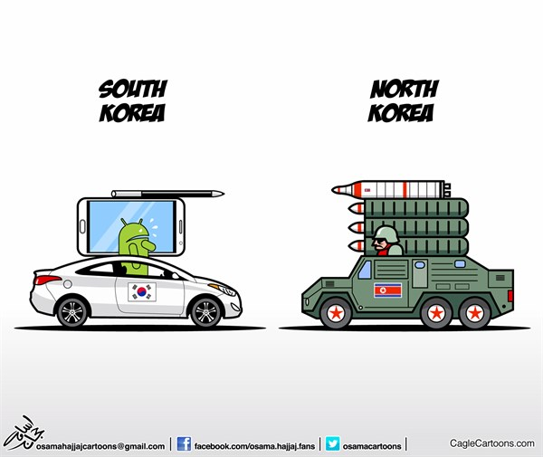 129756 600 North vs South cartoons