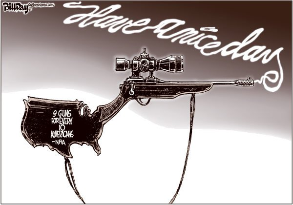 110826 600 Does America Need More Gun Control? cartoons
