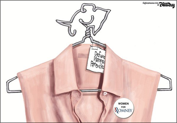 121205 600 Women for Romney cartoons